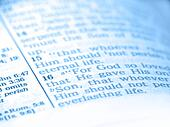 Bible Abstract Blue