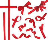 Red Ribbon (Isolated