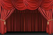 Stage Theatre Drape Background