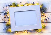art Christmas holidays frame