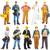contractors workers people
