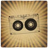 Vintage music abstract background