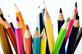 Creative Color Pencil Background