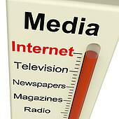 Internet Media Monitor Shows Marketing Alternatives Like Television And Newspapers