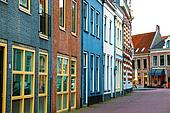 The historic architecture in Netherlands