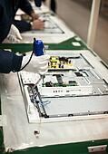 electronic industry assembly line