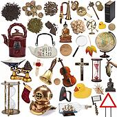 Objects for cut out - Isolated