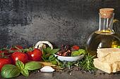Italian Food Background